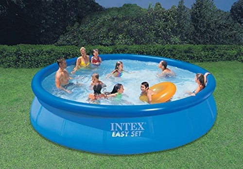 intex easy set up 15ft x 36in pool 28160 best swimming pool for garden. Black Bedroom Furniture Sets. Home Design Ideas