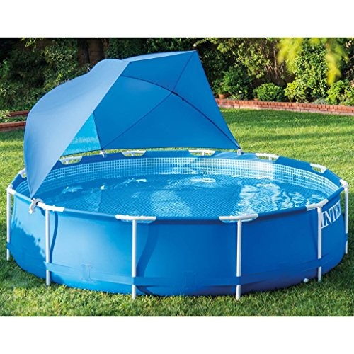 Vidaxl intex pool canopy 28050 best swimming pool for garden for Pool and garden show