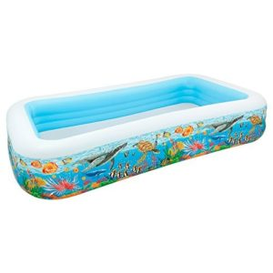 Best Swimming Pool for Garden Intex Inflatable Pool, 305x 183x 56cm, 999L, Tropical design (58485np)