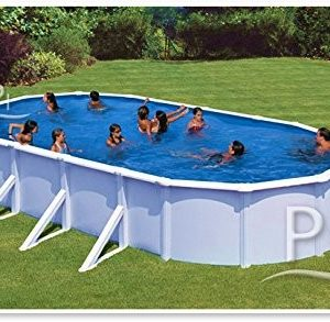 Best Swimming Pool for Garden Steel Pool white GRE San Marina 730