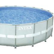 Best Swimming Pool for Garden Intex Pool ULTRA FRAME POOL SET Rondo Grey Diameter 488x 122cm