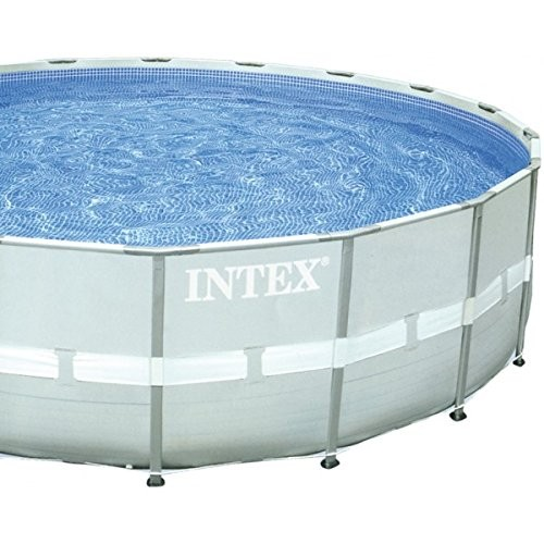 intex pool ultra frame pool set rondo grey diameter 488 x 122 cm best swimming pool for garden. Black Bedroom Furniture Sets. Home Design Ideas