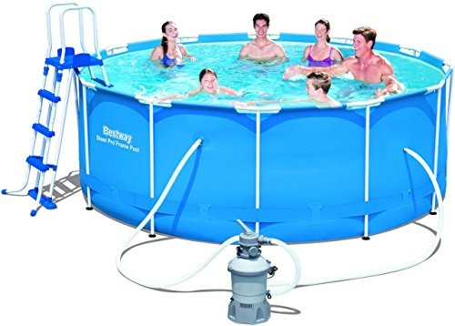 Bestway 12ft X 48 Quot Steel Pro Frame Above Ground Swimming