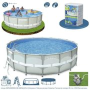 Best Swimming Pool for Garden Intex Pool Set Ultra Metal 549 x 132