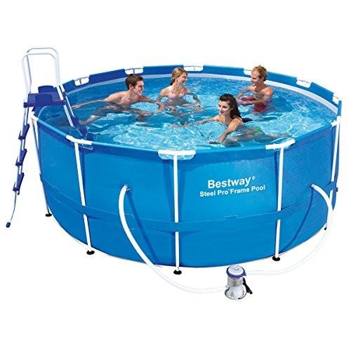 Bestway 12ft X 48 Inch Steel Pro Frame Pool Set Best Swimming Pool