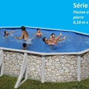 Best Swimming Pool for Garden san marina iraklion pool steel wall stone effect 6.10 x 3.75 x 1.2m