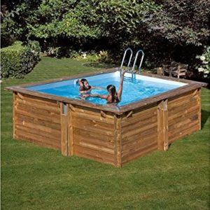 Best Swimming Pool for Garden Green Square Pool Carra, LxHxB: 267X267X116267cm cm, 7Pieces, 267cm, 116cm