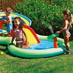 Chad valley activity pool play centre eatures a for Best children s paddling pool
