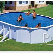 Best Swimming Pool for Garden Steel Pool white GRE San Marina 610