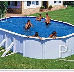Best Swimming Pool for Garden Steel Pool white GRE San Marina 500