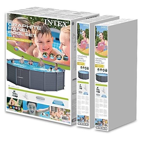 Intex 28382 Pool Kit Panel Graphite 4 78 X 1 24 M Best
