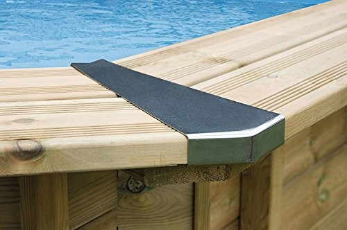 Best Swimming Pool for Garden Interline 50700260 440/530/655 cm Set of Steel Corner Joints for Round Pools (8-Piece)