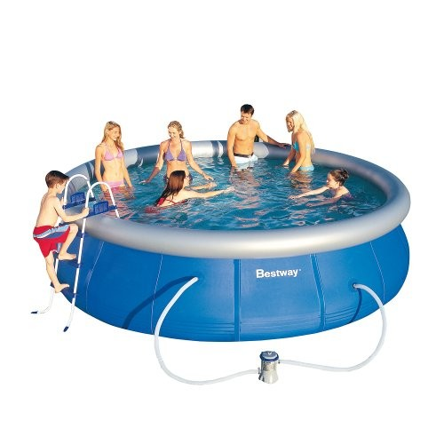 Best Swimming Pool for Garden Bestway Fast Set Family Pool with Pump 18x 91cm