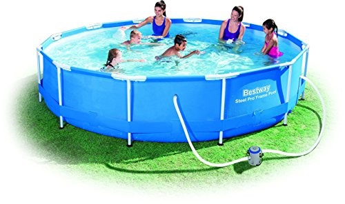 Bestway Steel Pro Frame Swimming Pool With Pump 12 Feet X 30 Inches Best Swimming Pool For