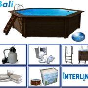 Best Swimming Pool for Garden Interline 50700201 434 x 116 cm Round Bali Swimming Pool