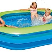 Best Swimming Pool for Garden Happy People 77781 Jumbo Pool Hexagon 252 x 172 x 50 cm