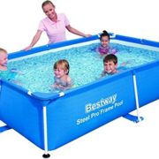 Best Swimming Pool for Garden Bestway Splash-Steel Frame Pool Pro 239 x 58 x 150 - Blue