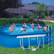 Best Swimming Pool for Garden Intex Oval Frame Pool 610X366X122 57982