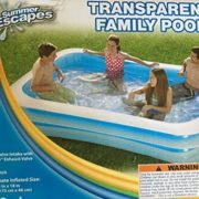"Best Swimming Pool for Garden Transparent Family Pool 103"" X 69"" X 18"""
