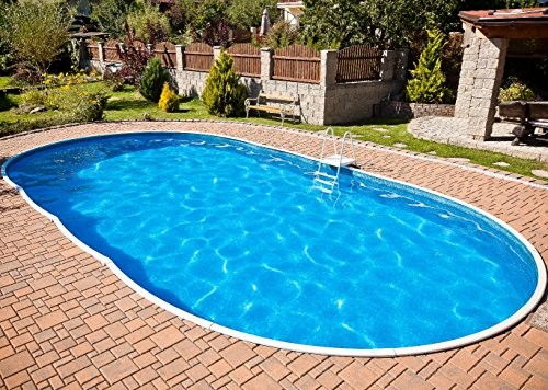 Best Swimming Pool for Garden Deluxe Oval Splasher Pool 30ft x 15ft With Sand Filter