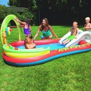 "Best Swimming Pool for Garden BESTWAY 110""x 68""x 40"" INTERACTIVE PLAY POOL BW53051"