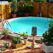 Best Swimming Pool for Garden Bon Pool 4 M round swimming pools Diameter 1,20 M Depth with Edelstahlleiter