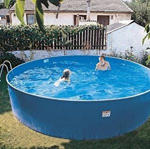 Best Swimming Pool for Garden Zizy Pools Amazing Above Ground Steel Free-Standing Swimming Pool - Lagoon (12 x 3ft)