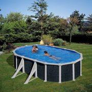 Best Swimming Pool for Garden gre m292300Steel Oval Swimming Pool-Aspect Ratan Java kit610nrt