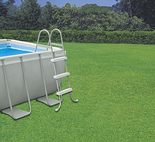 Intex 4m x 2m x 1m deep rectangular ultra frame swimming for Pool and garden show