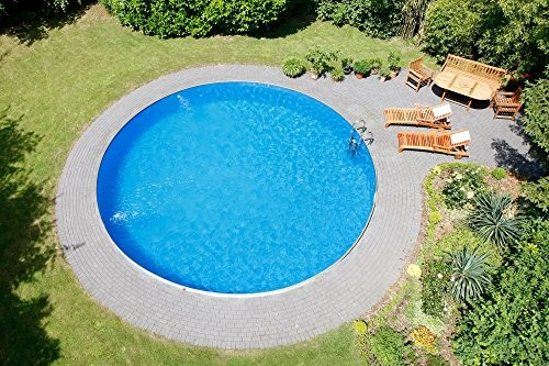 Approximately m x m steel wall pool de luxe 0 6 for Bester stahlwandpool
