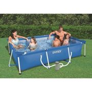 Best Swimming Pool for Garden Intex piscinette Kit 3800 L 28275fs Tubular Blue 300 x 200 x 75 cm