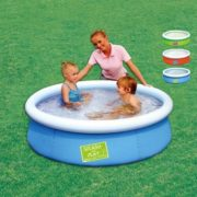 Best Swimming Pool for Garden Round Pool Inflatable Splash & Play for Children in PVC and Polyester Heavy