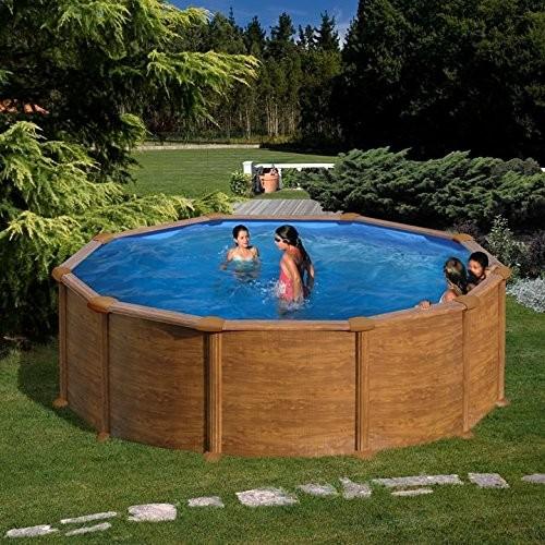 Wood Swimming Pool Mauritius Gre 350x132 Cm Best
