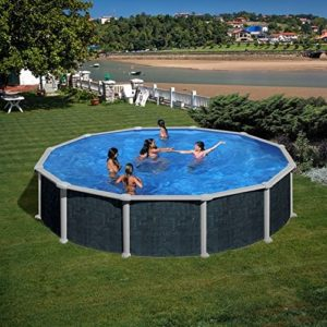 Best Swimming Pool for Garden Swimming Pool Gre Ratán 550x132 cm.
