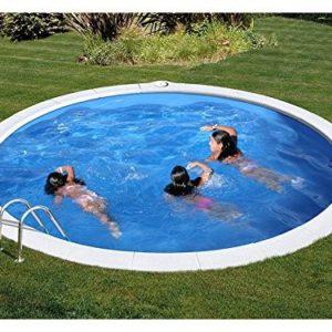 Best Swimming Pool for Garden Round Pool Gre Soaker Hose diam. cm 420x 120H cm