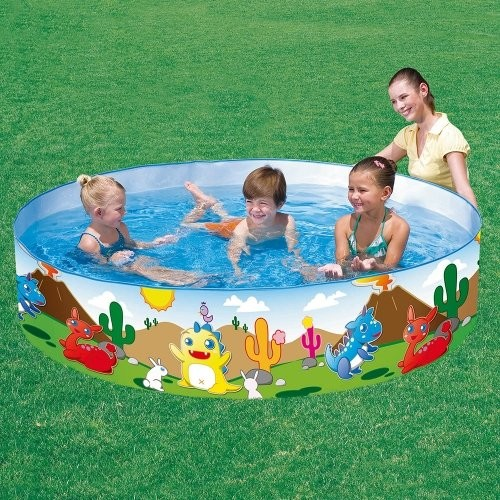 Sizzlin 39 cool 6ft dinosaurous fill n fun pool 197 litres - How many litres in a swimming pool ...