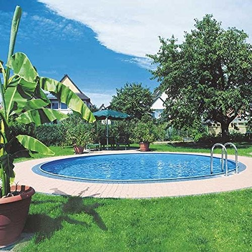 Piscina enterrada gre sumatra 350x120 cm best swimming for Swimming pool 120 cm tief