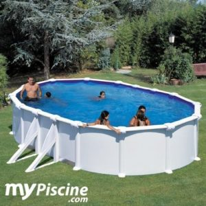 Best Swimming Pool for Garden Steel Set Pool 7.3 m X 3.75 m X 1.20 m Reinforced