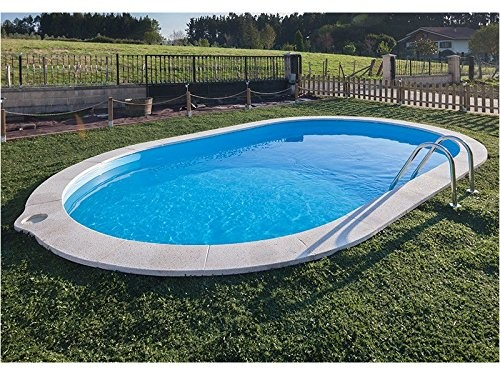 Oval pool gre soaker hose 700 x 320 x 120 cm h cm best for Swimming pool 120 cm tief
