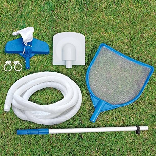 Summer waves swimming pool 549x274x132 cm complete set for Garden pool accessories