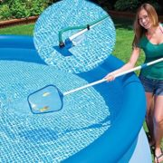 Best Swimming Pool for Garden INTEX CLEAN KIT 58958 28002/POOL BRUSH NET HANDLE FER 220163 235 CM