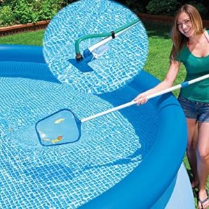 Best Swimming Pool for Garden INTEX CLEAN KIT 58958 28002/POOL BRUSH NET HANDLE FER 220163 235 CM