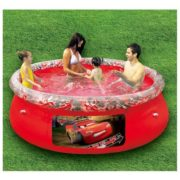 Best Swimming Pool for Garden Happy People 18531 - Quick Up Pool Disney Cars, 244 x 66 cm