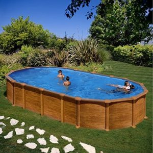 Best Swimming Pool for Garden Wood Amazonia Swimming pool Gre 730x375x132