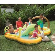 Best Swimming Pool for Garden Sizzlin' Cool Jungle Play Pool - Sturdy pre-tested vinyl/Safety valves