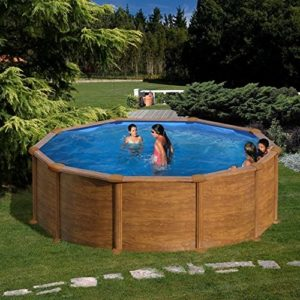 Best Swimming Pool for Garden Wood Swimming Pool Mauritius Gre 460x132 cm.