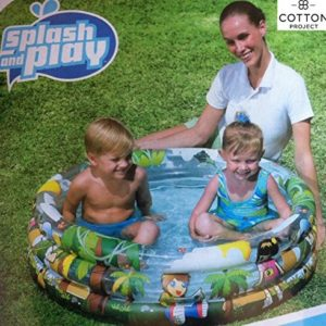Best Swimming Pool for Garden Easily inflatable round 3 ring cartoon pool 40 x 10 inches
