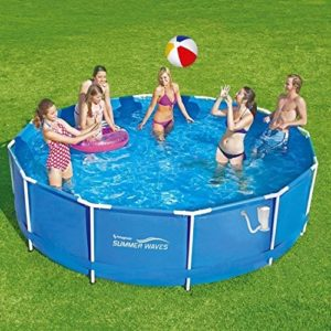 Best Swimming Pool for Garden Summer Escapes Frame Pool 366x91 cm with Filter Pump